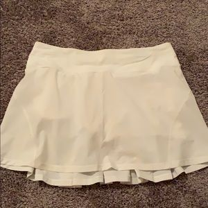 Lululemon tennis skirt with built in spandex